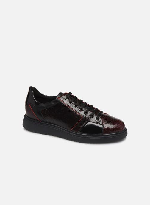 Sneaker Geox D THYMAR E D844BE weinrot detaillierte ansicht/modell