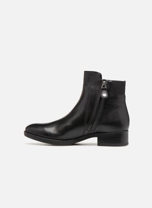 Bottines et boots Geox D FELICITY F D84GIF Noir vue face