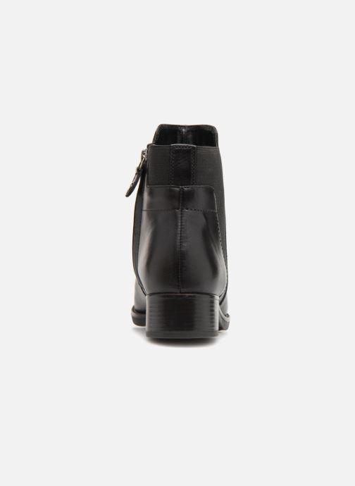 Bottines et boots Geox D FELICITY F D84GIF Noir vue droite