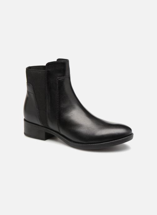 Bottines et boots Geox D FELICITY F D84GIF Noir vue détail/paire