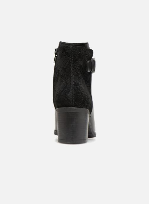 Bottines et boots Geox D GLYNNA NP ABX B D84AZB Noir vue droite