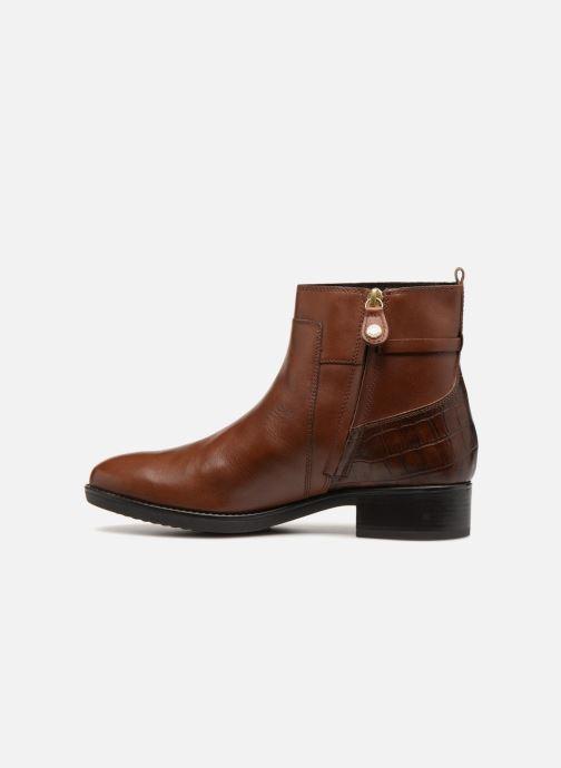 Bottines et boots Geox D FELICITY A D84G1A Marron vue face