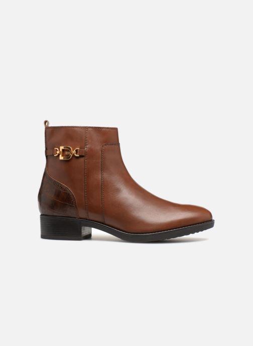 Bottines et boots Geox D FELICITY A D84G1A Marron vue derrière