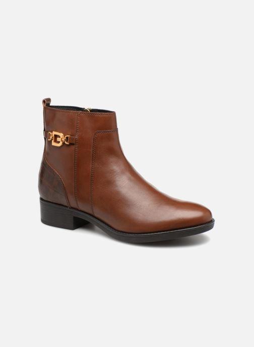Bottines et boots Geox D FELICITY A D84G1A Marron vue détail/paire