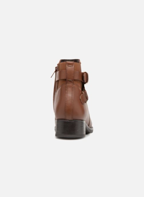 Bottines et boots Geox D FELICITY NP ABX B D84BLB Marron vue droite