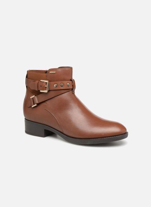 Bottines et boots Geox D FELICITY NP ABX B D84BLB Marron vue détail/paire