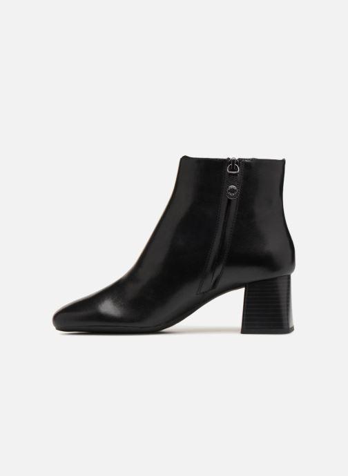 Bottines et boots Geox D SEYLISE MID D D84BBD Noir vue face