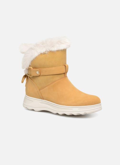 Bottines et boots Geox D HOSMOS B ABX C D84AUC Jaune vue détail/paire