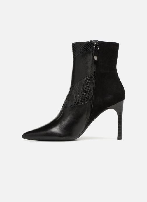 Bottines et boots Geox D FAVIOLA E D848UE Noir vue face