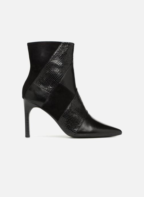 Bottines et boots Geox D FAVIOLA E D848UE Noir vue derrière