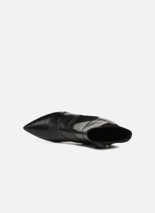 Bottines et boots Geox D FAVIOLA E D848UE Noir vue gauche