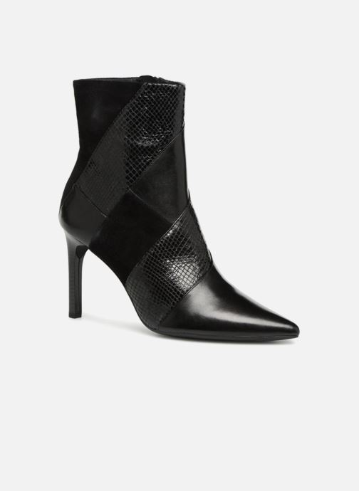 Bottines et boots Geox D FAVIOLA E D848UE Noir vue détail/paire