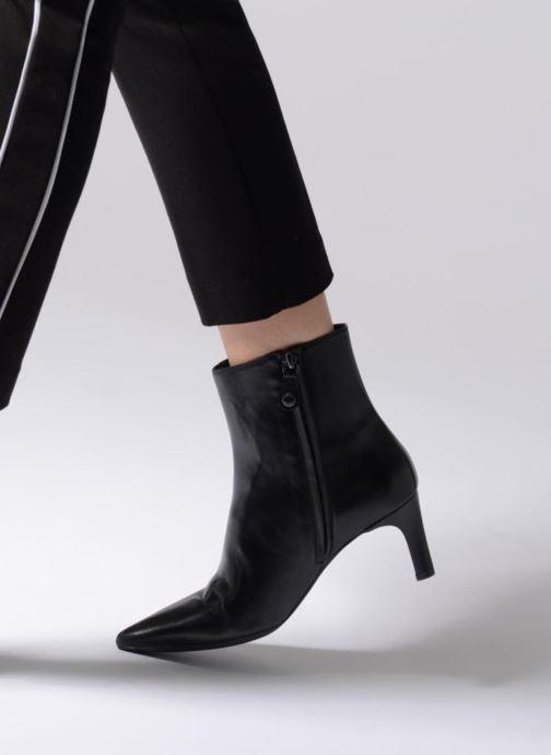 Geox D BIBIANA B D829CB (Noir) - Bottines et boots (334499)