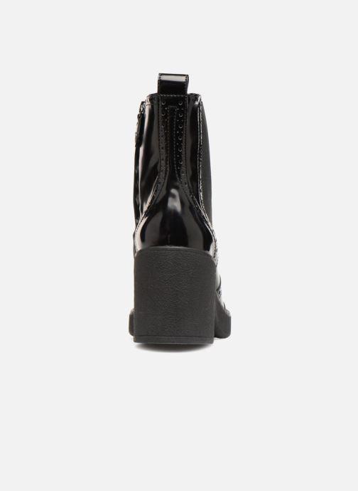 Boots en enkellaarsjes Geox D ADRYA MID C D849UC Zwart rechts