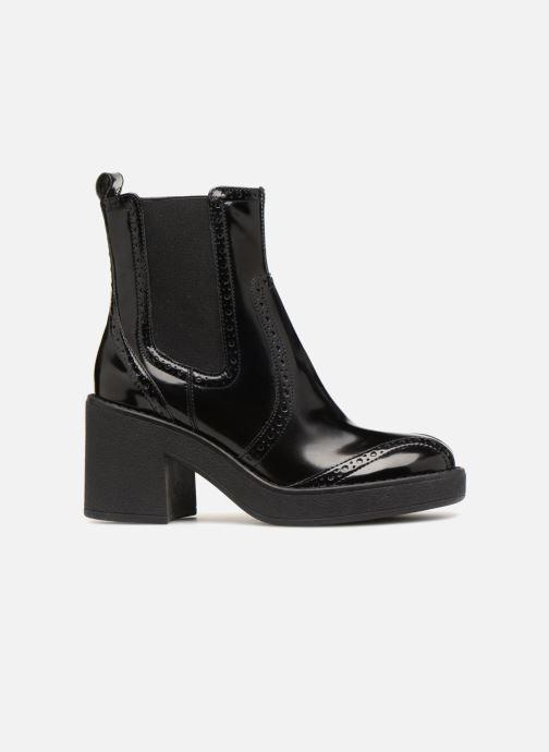 Boots en enkellaarsjes Geox D ADRYA MID C D849UC Zwart achterkant