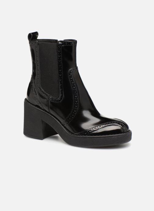 Bottines et boots Geox D ADRYA MID C D849UC Noir vue détail/paire