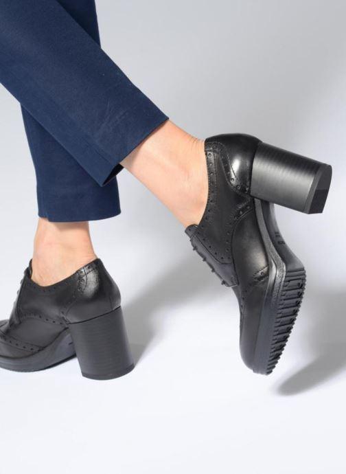 Stiefeletten & Boots Geox D REMIGIA B D84AFB schwarz ansicht von unten / tasche getragen