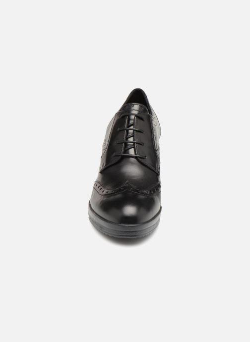 Stiefeletten & Boots Geox D REMIGIA B D84AFB schwarz schuhe getragen
