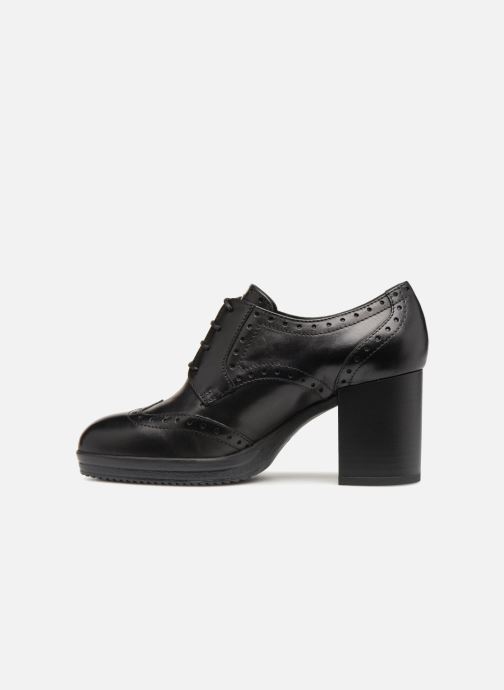 Stiefeletten & Boots Geox D REMIGIA B D84AFB schwarz ansicht von vorne