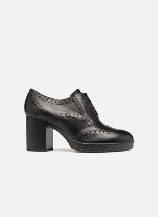 Stiefeletten & Boots Geox D REMIGIA B D84AFB schwarz ansicht von hinten