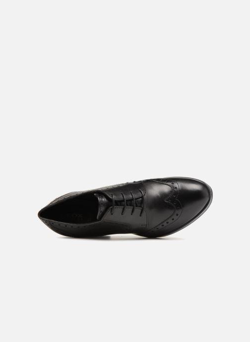 Stiefeletten & Boots Geox D REMIGIA B D84AFB schwarz ansicht von links
