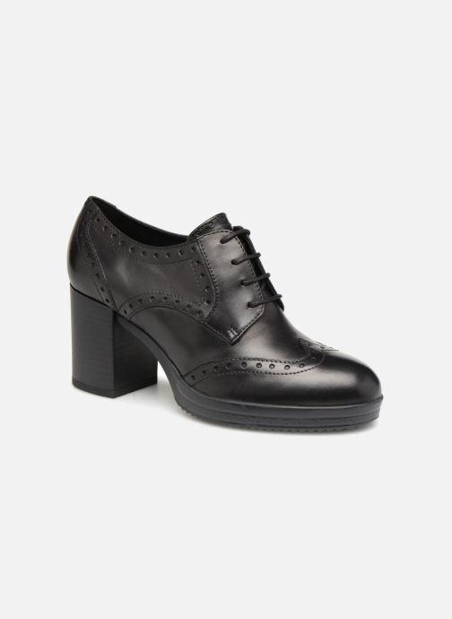 Stiefeletten & Boots Geox D REMIGIA B D84AFB schwarz detaillierte ansicht/modell