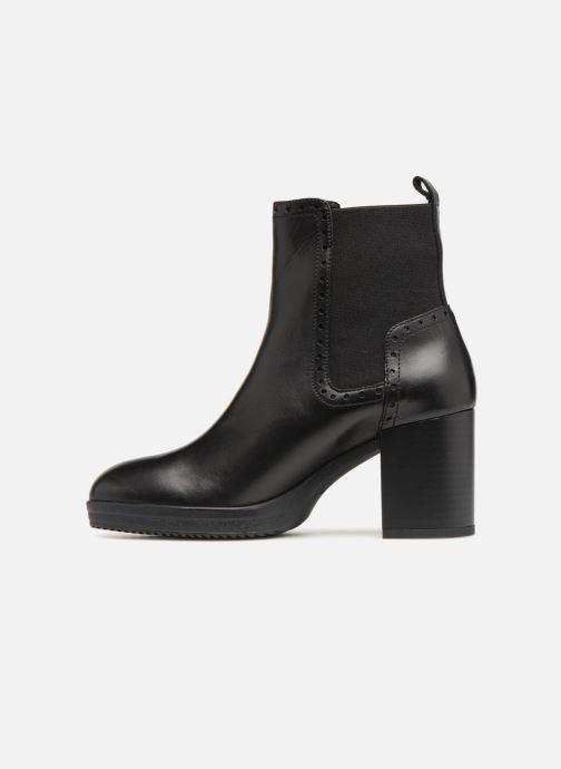 Bottines et boots Geox D REMIGIA F D84AFF Noir vue face