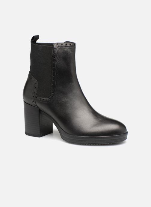 Bottines et boots Geox D REMIGIA F D84AFF Noir vue détail/paire