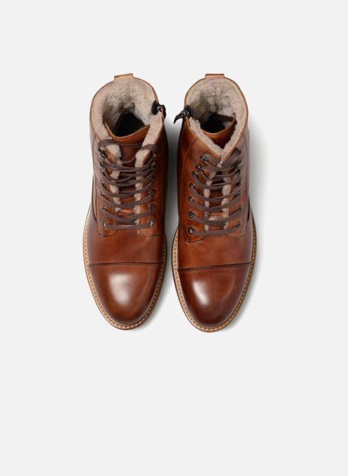 Bottines et boots Mr SARENZA Navarra Marron vue portées chaussures