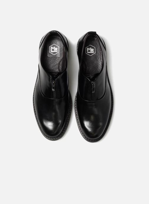 Scarpe con lacci Mr SARENZA Nolham Nero modello indossato