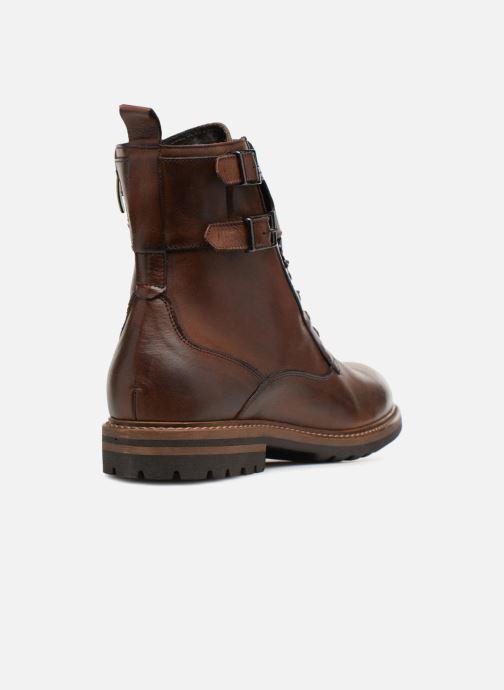 Boots en enkellaarsjes Mr SARENZA Nateo Bruin voorkant