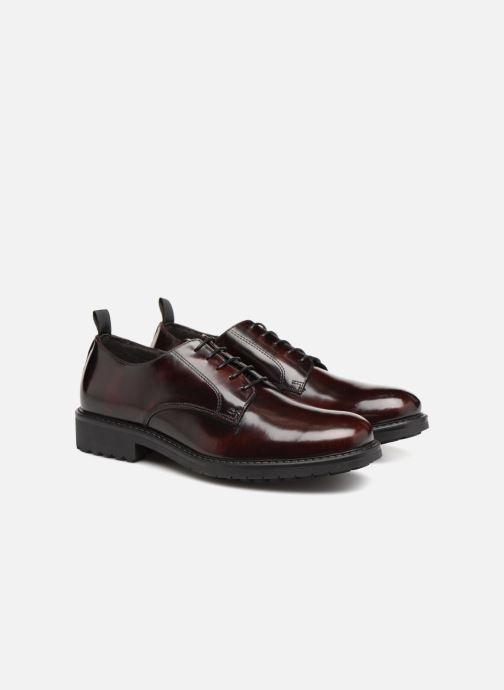 Chaussures à lacets Mr SARENZA Numa Noir vue derrière