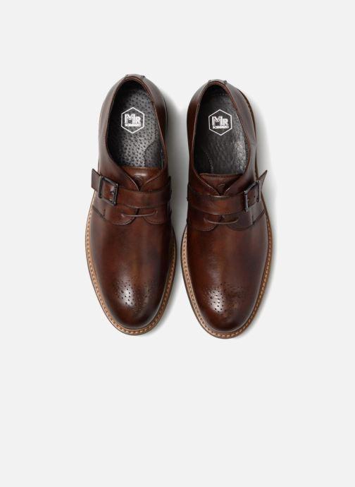 Chaussure à boucle Mr SARENZA Niris Marron vue portées chaussures