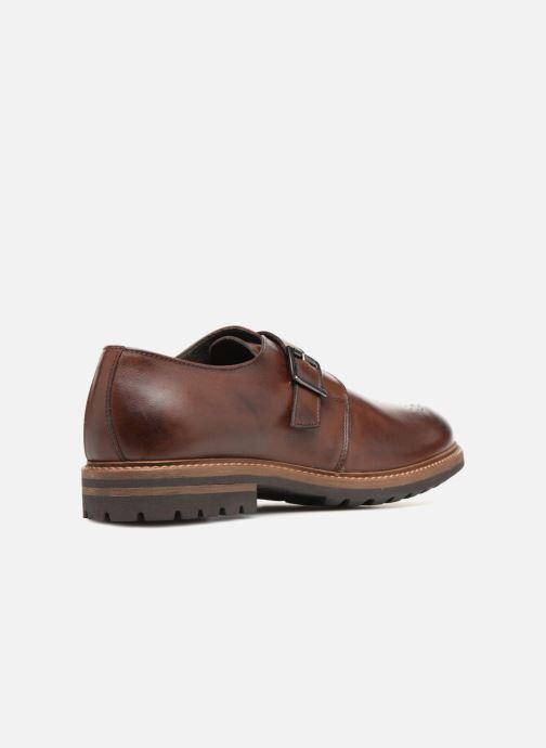 Chaussure à boucle Mr SARENZA Niris Marron vue face