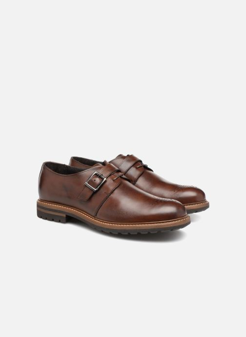 Loafers Mr SARENZA Niris Brown back view