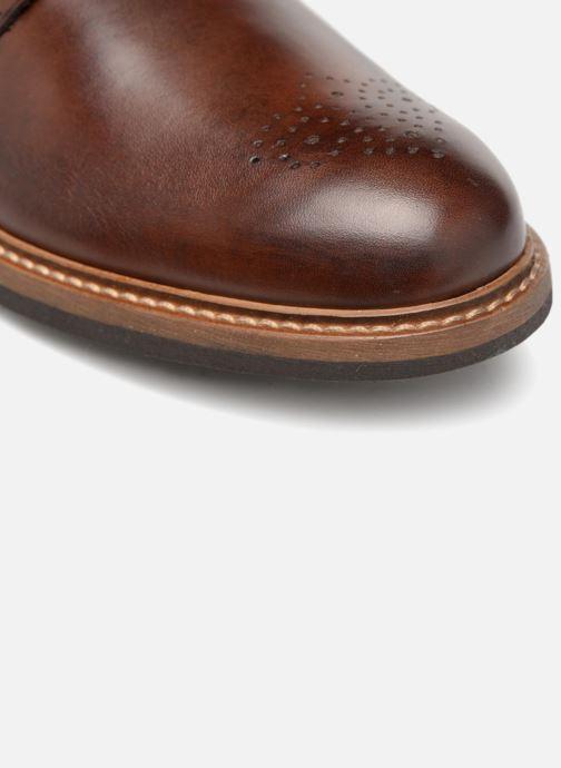 Zapato con hebilla Mr SARENZA Niris Marrón vista lateral izquierda