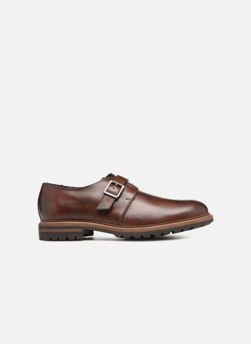 Chaussure à boucle Mr SARENZA Niris Marron vue détail/paire