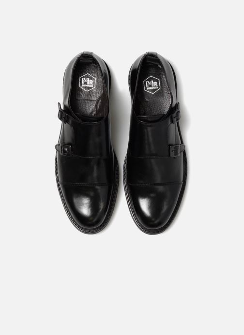 Zapato con hebilla Mr SARENZA Nelio Negro vista del modelo