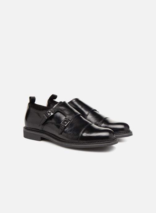 Chaussure à boucle Mr SARENZA Nelio Noir vue derrière