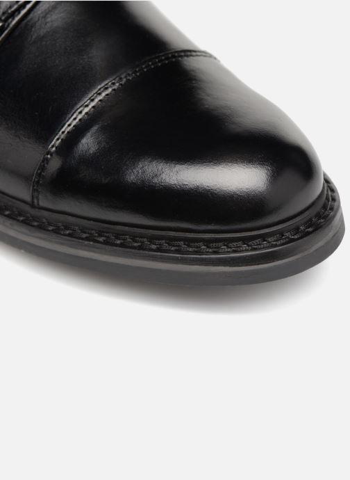 Scarpe con cinturino Mr SARENZA Nelio Nero immagine sinistra