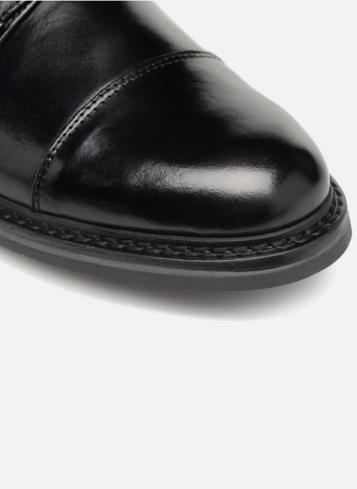 Zapato con hebilla Mr SARENZA Nelio Negro vista lateral izquierda