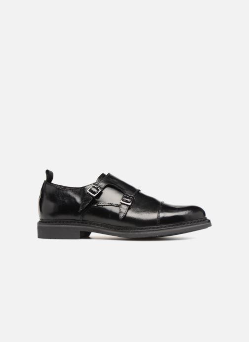 Zapato con hebilla Mr SARENZA Nelio Negro vista de detalle / par