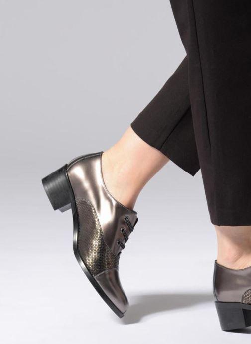 Chaussures à lacets Karston Himi Or et bronze vue bas / vue portée sac