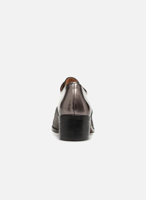 Chaussures à lacets Karston Himi Or et bronze vue droite