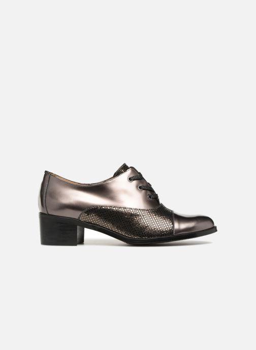 Zapatos con cordones Karston Himi Oro y bronce vistra trasera