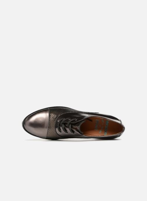 Lace-up shoes Karston Himi Bronze and Gold view from the left