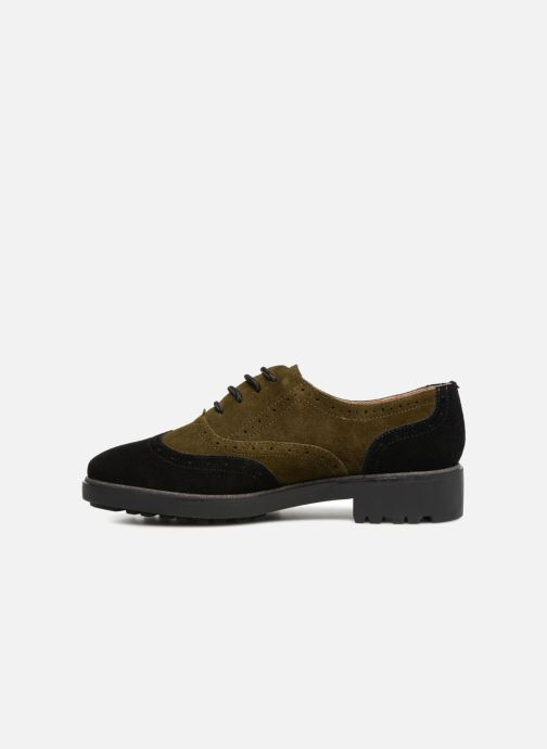Zapatos con cordones Karston Onozo Negro vista de frente