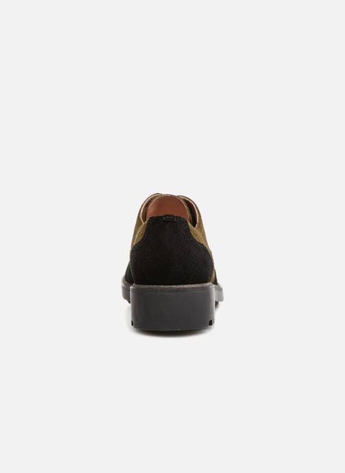 Zapatos con cordones Karston Onozo Negro vista lateral derecha