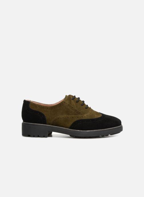 Zapatos con cordones Karston Onozo Negro vistra trasera