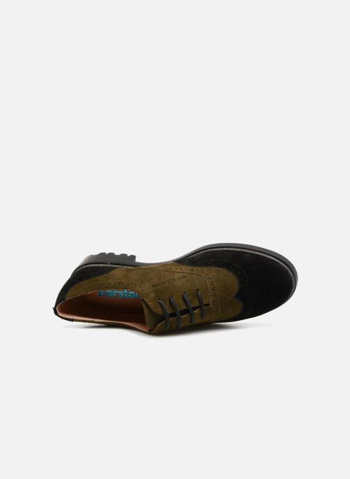 Zapatos con cordones Karston Onozo Negro vista lateral izquierda